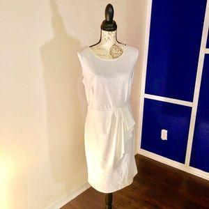 AA studio off white dress